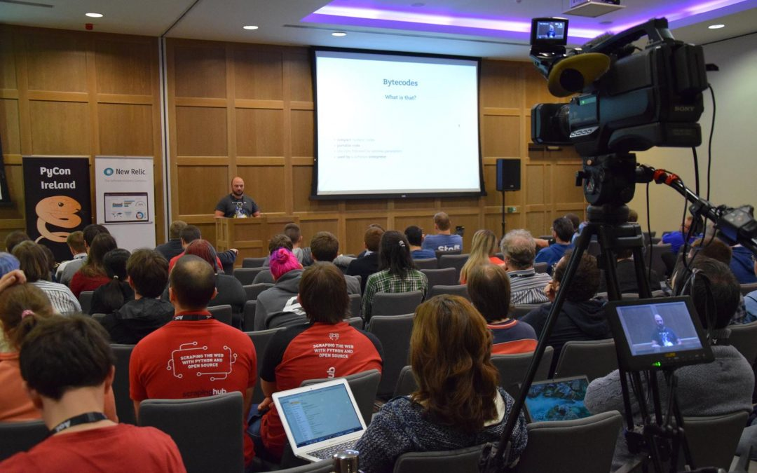 PyCon Ireland 2015 Conference Filming