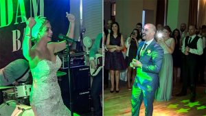 Bride Jamie Sings to Her Husband on Their Wedding Day