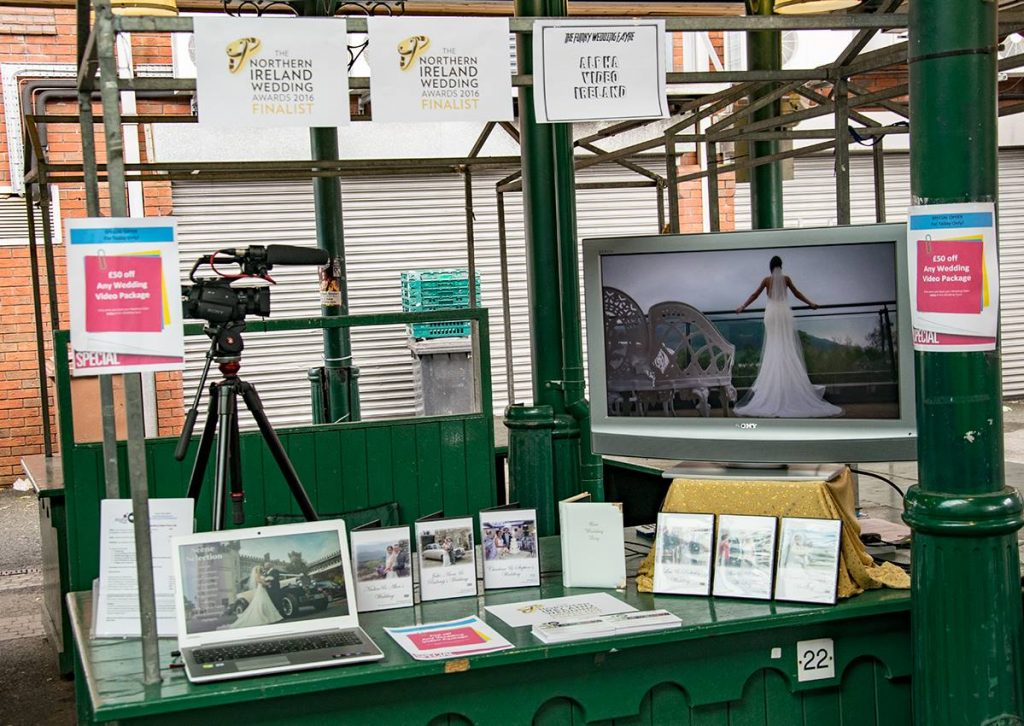 Photo of Alpha Video at the Funky Wedding Fayre September 2016