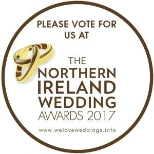 Please Vote For Us - The 2nd Northern Ireland Wedding Awards 2017