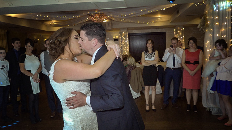 Andrea & Richard's 1st Dance at the Whistledown Hotel Warrenpoint