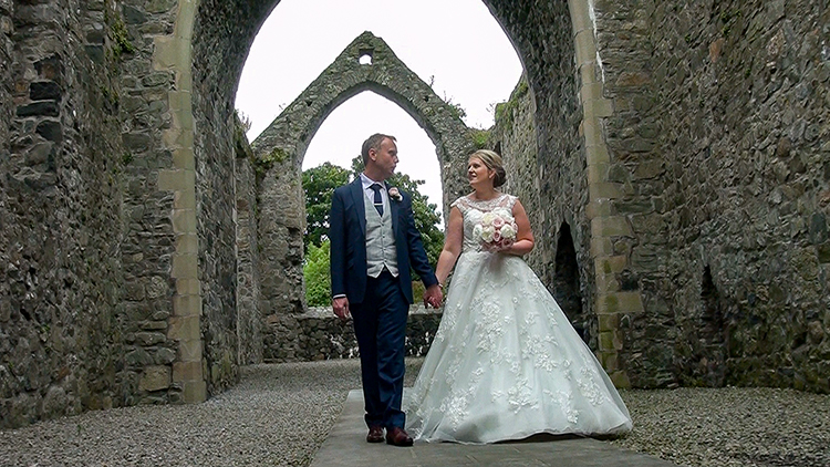 Claire & Philip's Wedding Highlights – Mourne Presbyterian Church Kilkeel and Carlingford