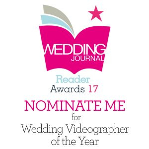 Please Vote For Me in the 2017 Wedding Journal Awards