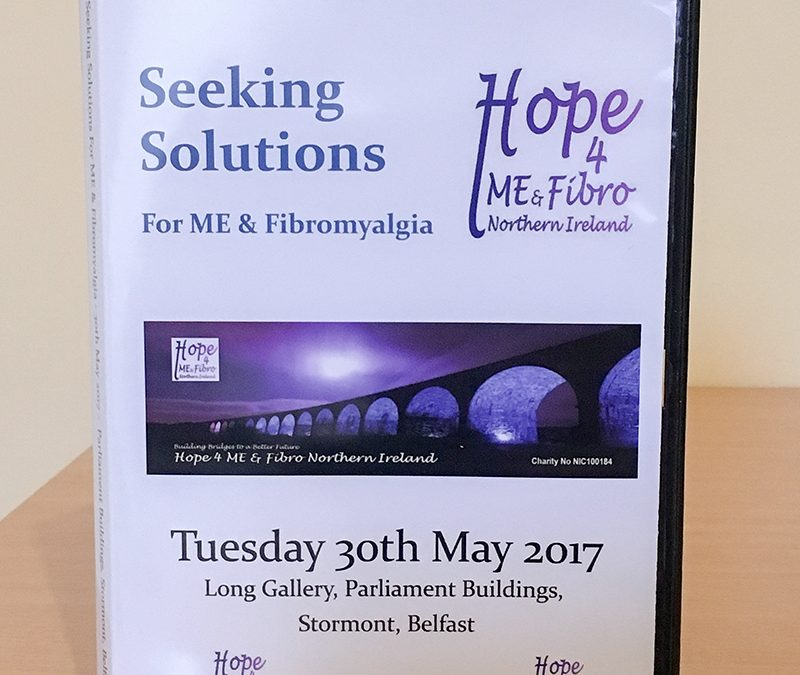 Seeking Solutions for Belfast ME & Fibromyalgia Conference DVDs Now Available