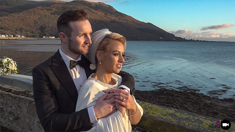 Screenshot from Sara & Ryan's Wedding – Rostrevor