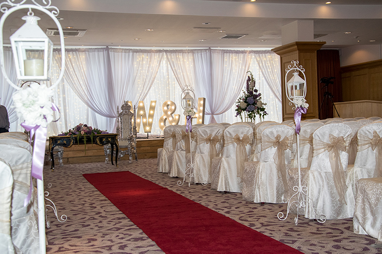 Grand Ballroom wedding at the Slieve Donard Hotel