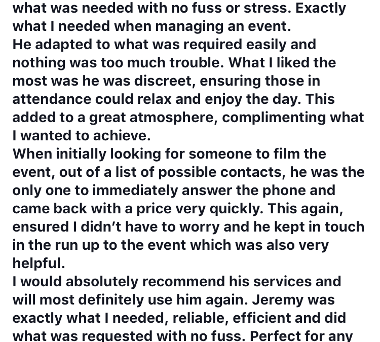 Another Great Review