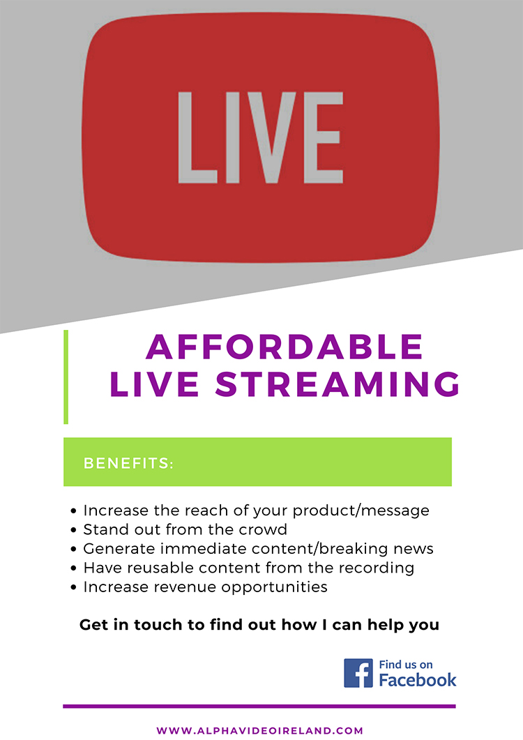 The Benefits of Live Streaming